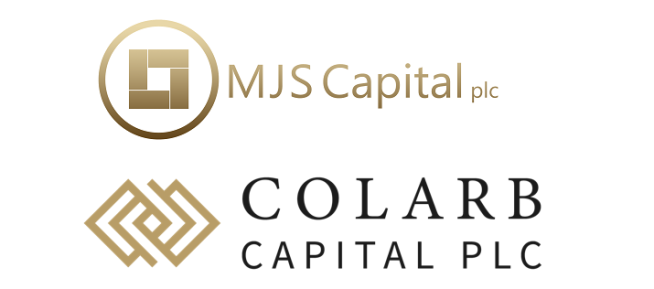 MJS Capital and Colarb Capital logos