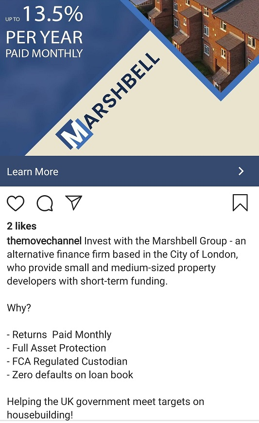 Marshbell introducer advert